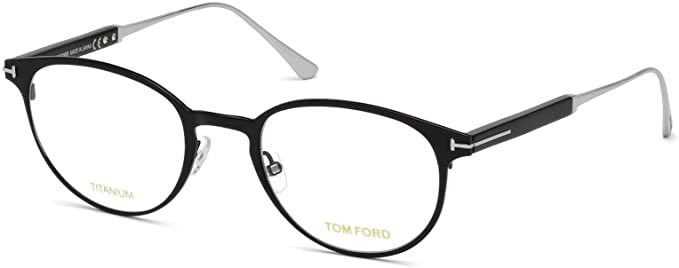 4b2fbd9637 Image Unavailable. Image not available for. Color  Tom Ford FT5482 Eyeglass  Frames - Shiny Black Frame ...