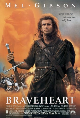 Braveheart - 1995 - 27 x 40 Movie Poster - Style A