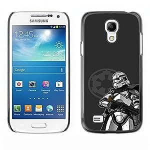 TaiTech / Prima Delgada SLIM Casa Carcasa Funda Case Bandera Cover Armor Shell PC / Aliminium - Stormtrooper - Samsung Galaxy S4 Mini i9190