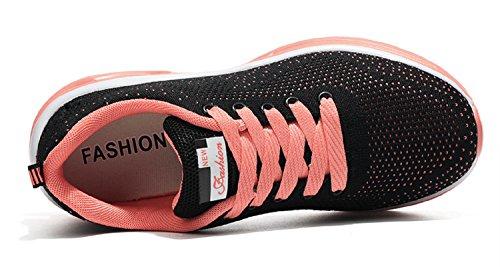 Fitness Running tqgold Interior Casual Uomo all'Aperto Donna da Corsa Arancione Ginnastica Sneakers Sportive Scarpe rRSzrqwn0