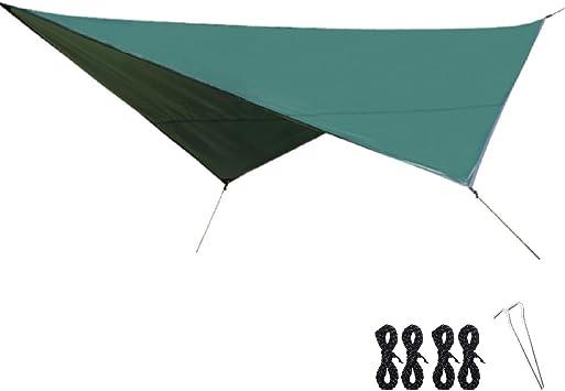 Azarxis Toldo de Camping Impermeable 320 x 250 cm Protección ...