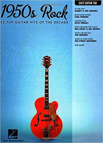 Amazon.com: 1950s Rock: Easy Guitar with Notes & Tab (Easy Guitar ...
