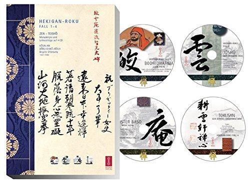 Hekigan-Roku. 4 Zen-Teisho 1. Fall 1-4. Die blaugrüne Felswand - mit 4 CDs