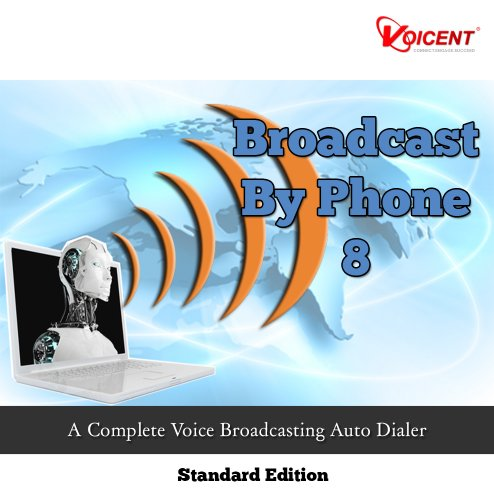 Voicent BroadcastByPhone Std 8 [Download]