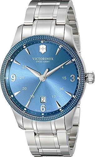Victorinox Men's 241711 Alliance Analog Display Swiss Quartz Silver Watch