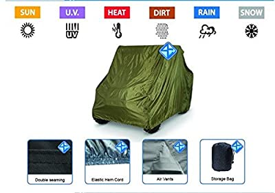 ATV Cover fits Polaris RZR 170 Ace 500 570 WaterProof UV Snow Rain