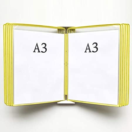 Exhibición del libro del tirón del cartel A3 montado en la ...