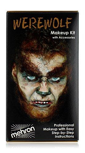 Mehron Makeup Premium Character Kit (Werewolf)