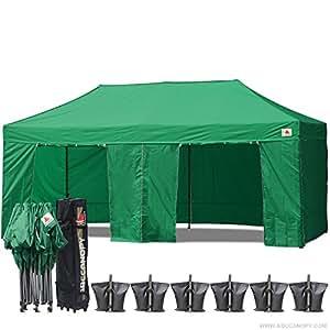 Amazon Com Abccanopy Deluxe 10x20 Pop Up Canopy Outdoor