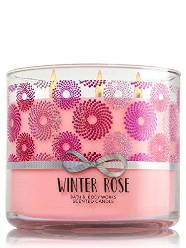 Bath & Body Works 3-Wick Candle in Winter Rose