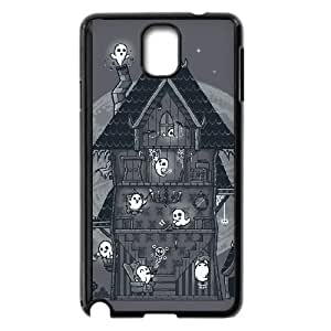 Samsung Galaxy Note 3 Black phone case Haunted House Halloween The best gift DVE7631925