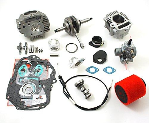 TB Parts TBW0968 TB Stroker Kit 3 - Mikuni Carb Race Head Big bore Kit 108cc Honda Z50 XR50 CRF50 (Bore Kit Race)