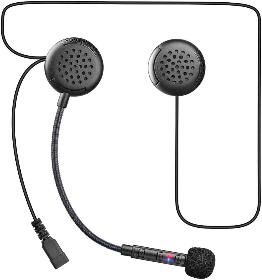 Fodsports F1 Motorradhelm Intercom Headset Bluetooth Elektronik