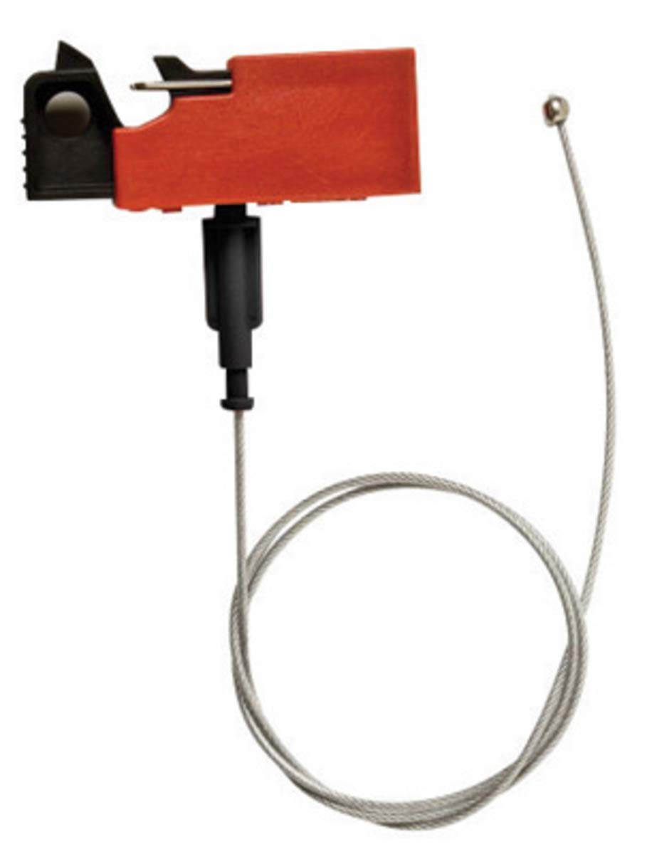 Brady Red Reinforced Fiberglass/Polyurethane EZ Paneloc Lockout