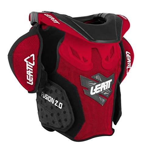 Leatt Fusion 2.0 Jr Protective Vest (Red/Black, (Gear Brace)
