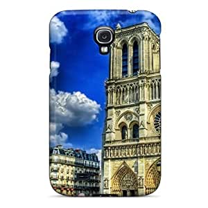 Premium [ButzXES5553ipjDP]notre Dame De Paris France Case For Galaxy S4- Eco-friendly Packaging