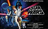 RoomMates Star Wars Classic Chair Rail  Removable Wall Mural - 10.5 feet X 6 feet