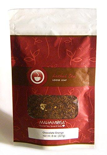 Mahamosa Chocolate Orange Rooibos Tea 8 oz - Loose Leaf Rooibos Herbal Tea Blend (Dessert Tea) ()