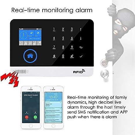 Semoic Sistema De Alarma Gprs Gsm Wifi Segurida Para Casa ...