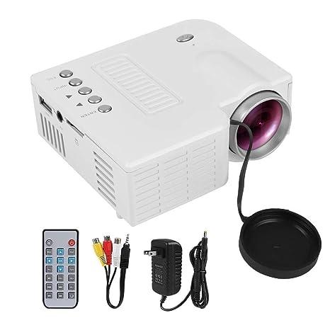 HD 1080P Mini proyector LED Proyector portátil de Cine en casa ...