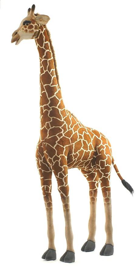 Amazon Com Hansa Large Giraffe Stuffed Animal Toys Games