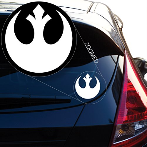 (Yoonek Graphics Rebel Alliance From Starwars Decal Sticker for Car Window, Laptop and More. # 510 (4)