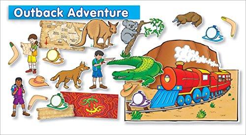 Scholastic Teacher's Friend Outback Adventure Bulletin Board -