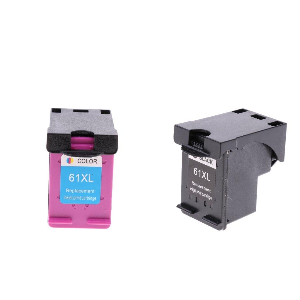 SM SunniMix 2 Unidads Cartuchos de Tinta 61XL para HP ...
