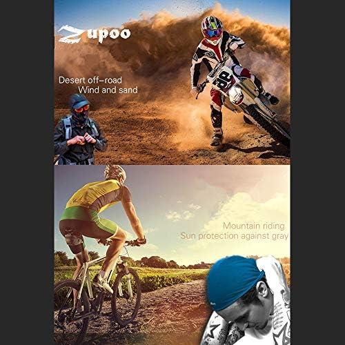 QIANWEIXI Nahtlose Bandanas Camouflage Cycling Winddichte Schals Bandanas Ciclismo Neck Warmer Magic Scarf Angeln Camo Bandana Man Kopfbedeckung