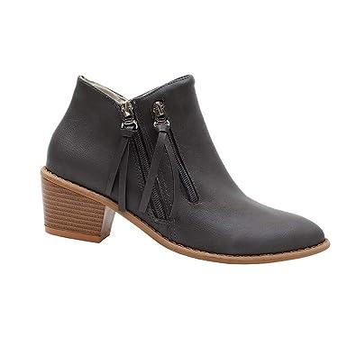 Gtagain Chaussures Femme Bottes et Bottines Talon Haut