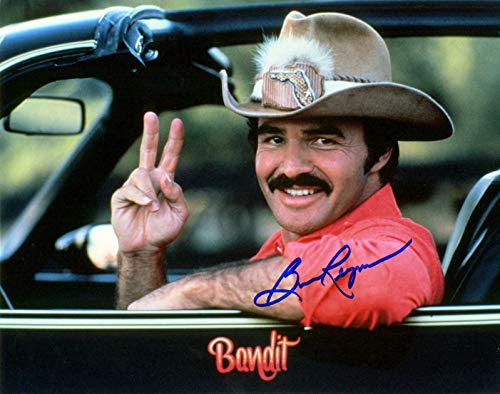Burt Reynolds reprint signed autographed Smokey & The Bandit 11x14 poster photo -