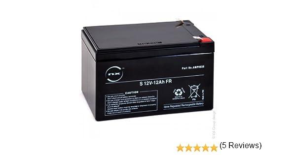NX - Batería plomo AGM S 12V-12Ah FR 12V 12Ah T2 - Unidad(es)