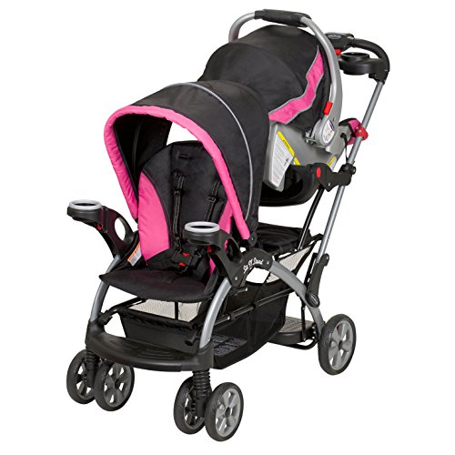 Baby Trend Sit n Stand Ultra Stroller, Bubble Gum by Baby Trend (Image #2)
