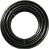 RainDrip 052020P Drip Watering Hose , Black Polyurethane 1/2 inch x 200 Ft