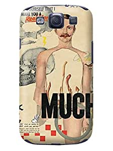 LarryToliver The Newest Customizable retro style collage design pictures Terms samsung Galaxy s3 Case Cover for #1
