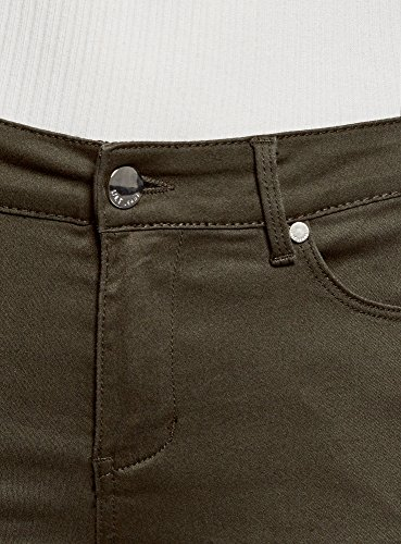 Básicos Mujer Skinny Pantalones 6900n Ultra Verde Oodji 80qHFIxF