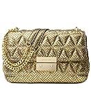 MICHAEL Michael Kors Women's Sloan Chain Shoulder Bag, Gold, One Size