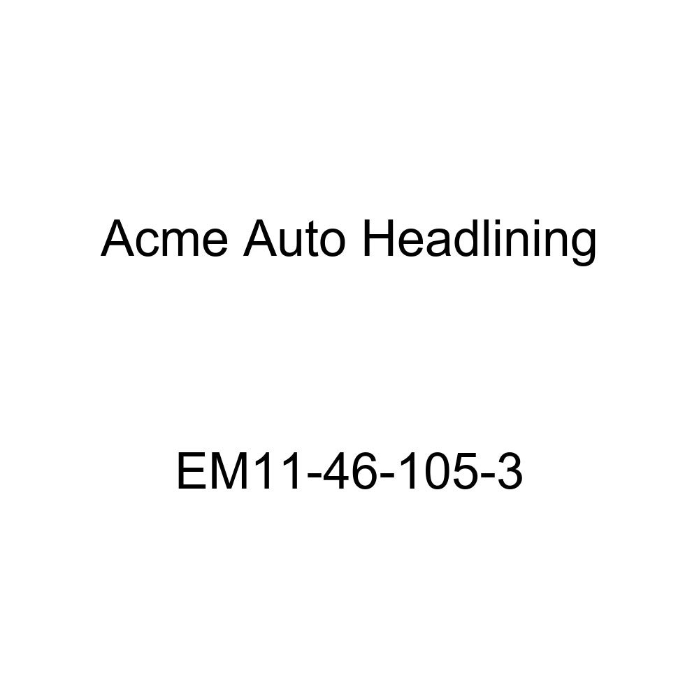 Acme Auto Headlining EM11-46-105-3 Medium Blue Replacement Headliner 1934 Buick Series 40, 50, 60 /& 90 Model 34-059 /& 1343, 4 Dr - 7 Bow