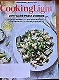 Cooking Light April 2018 Low Carb Pasta Dinners