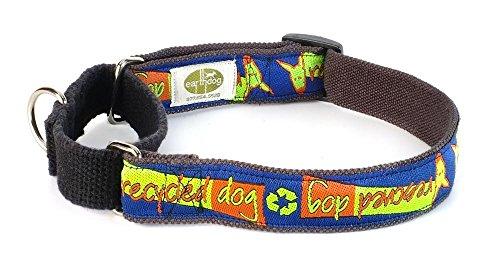 Earthdog Decorative 100% Hemp Martingale Collars - Reilly I, Medium