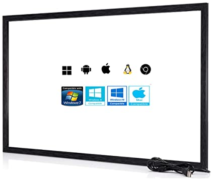 Amazon com: Chengying 43 Inch 10 Points Multi-Touch Infrared