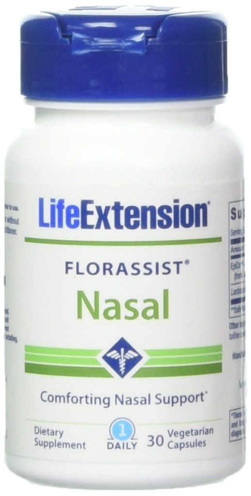 Life Extension Florassist Nasal, 30 Vegetarian Capsules