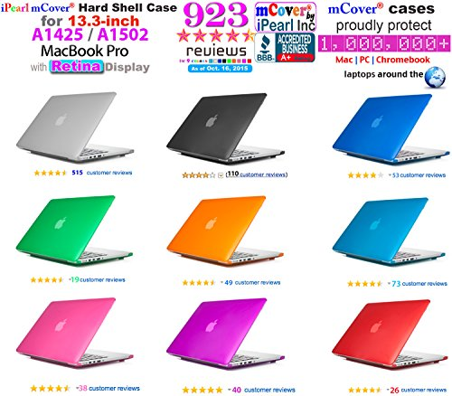 iPearl mCover Hard Shell Case for 13-inch Model A1425 / A1502 MacBook Pro (with 13.3-inch Retina Dis - http://coolthings.us