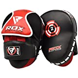 RDX Boxing Hook & Jab Punch Pads MMA Thai Strike Kick Shield Training Punching Focus Mitts Target