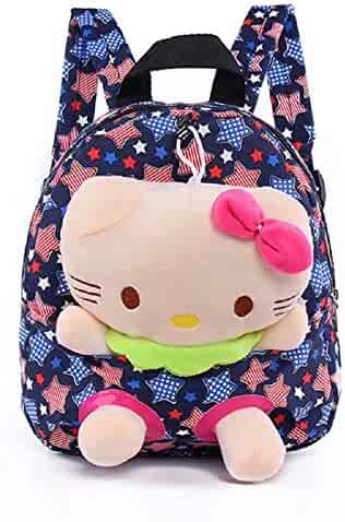 f9047ece8 2 in 1 Hello Kitty cat Plush Doll+Backpack for Toddlers Baby Girls Suitable  for