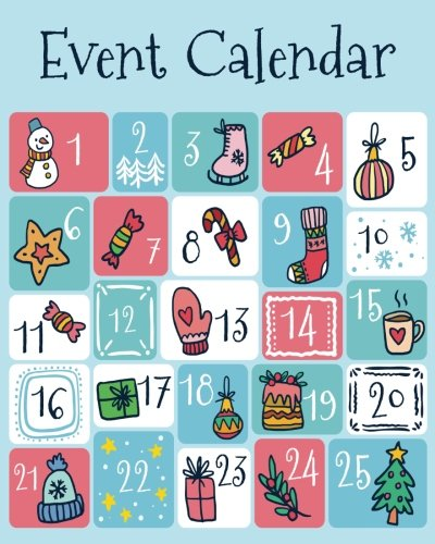Event Calendar: Perpetual Calendar Record All Your Important Dates Date Keeper Christmas Card List for Birthdays Anniversaries & Celebrations