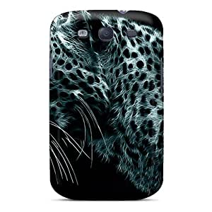 Excellent Galaxy S3 Case Tpu Cover Back Skin Protector Android Cheetah