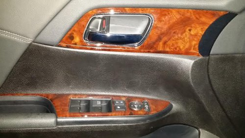 Honda Accord 4 Door Sedan Interior Burl Wood Dash Trim Kit