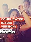 Complicated (Radio Version)