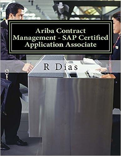 buy ariba contract management: sap certified application associate ...